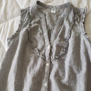 NWOT Old Navy V-neck Button Down Tank